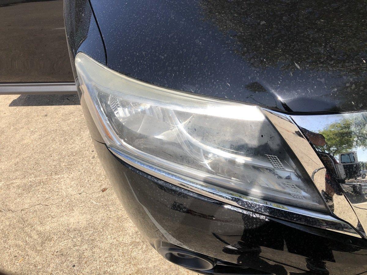 car headlight restoration